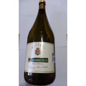 Botella Vacía Vino Lambrusco Dell