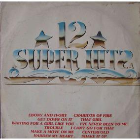 Lp 12 Super Hits - All Disc Lover Group - 1982 - Polyfar