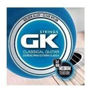 Encordado Para Guitarra Clasica Gk 960 Dorado Lfn