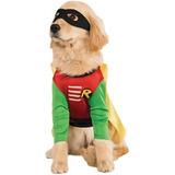Disfraz Para Perro Traje De Mascotas Robin - Grande