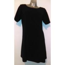 Vestido Negro Talla 14w, 36 Mex. Venta De Clóset