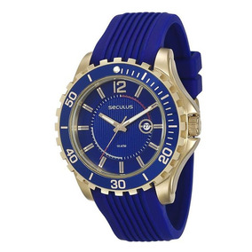 4d35e6147f6 Relógio Seculus Pulseira Aço 2 - Relógios De Pulso no Mercado Livre ...