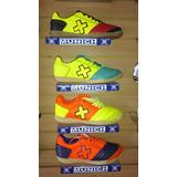 Zapatos Tenis Munich Grexca X Cuero Zapatillas Fútsal Salón