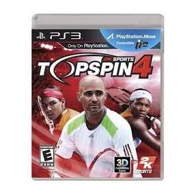 Top Spin 4 Ps3 Usado Solo Venta Tennis Ps3