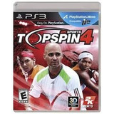 Top Spin 4 Ps3 Usado Solo Venta Tennis Ps3