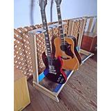 Pie Soporte Para 5 Guitarras Y Bajos