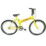 Bicicleta Aro 26 Maria-mole Amarela Frete Grátis