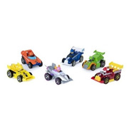 Paw Patrol Coleccion De Carros De Metal Pack X6