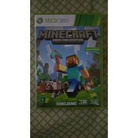 Minecraft Xbox 360 Edition Novo Original (mídia Física)