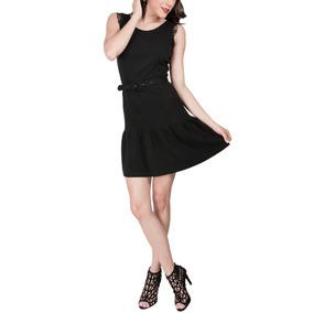 Vestido Sarah Bustani Negro Original + Envío Gratis