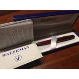 Bolígrafo Con Detalles En Oro - Waterman Paris