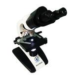 Microscópio Binocular Biológico Completo Aumento 1600x