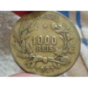 Moeda De 1000 Reis Rara