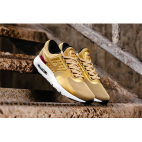 Exclusivas Zapatillas Nike Air Max Zero Qs Metallic Gold!!!