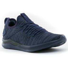 Zapatillas Ignite Flash Evoknit Navy Puma