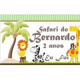Imas Geladeira Personalizado Lembrancinha Safari