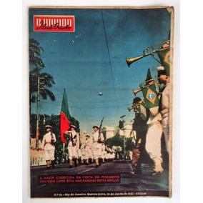 Revista O Mundo Ilustrado N° 25 - Visita Pres Craveiro Lopes