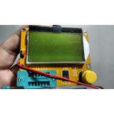 Testador De Componentes Medidor Esr Meter Lcr Capacímetro