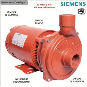 Bomba Siemens 1/2hp Centrifuga 120v Altura Maxima 20 Mts