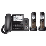 Teléfono Panasonic Kx-tgf380 +2 Adic- Manos Libres- Fact A/b