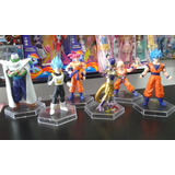 Muñecos Dragon Ball Z Goku Dios Golden Freezer Lote Por 6