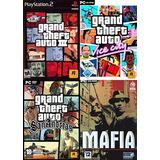 [pc] Mafia + Gta 3 + Vice City + San Andreas Físico - Envíos