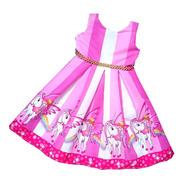 Vestido Unicornio Escote En V - Ig
