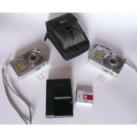 Dos Camaras Sony Cybershot 7.2mp Para Reparar Entre Sí