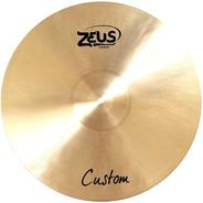 Prato Para Bateria Crash Ataque 17  Zeus Custom Cymbal