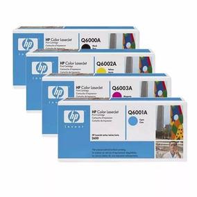 Toner Hp Original Q6000 Q6001 Q6002 Y Q6003 Serie 6 Completa