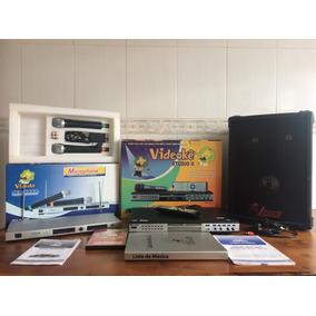 Videokê Power 8380 Studio Com 4.500 Músicas + Complementos
