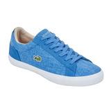Tenis Para Caballero Lacoste Color Azul Hombre Original