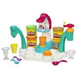 Juguete Play-doh Mágico Del Remolino Ice Cream Shoppe