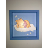 Cuadros Infantiles Decorativos Winnie The Pooh En Madera