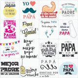 100 Plantillas Papa Digital Frases Sublimacion Tazones