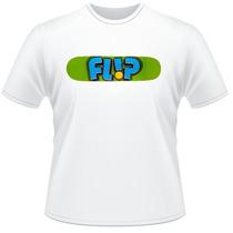 Camiseta Camisa Skate Flip Promoção Oferta
