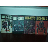 Oferta Comic Kick Ass Completa 1, 2, 3 + Hit Girl - Marvel