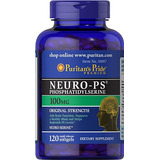 Neuro Ps Fosfatidilserina 100mg 120 Softgels Puritan