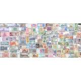 Colección 100 Billetes Mundiales, Todos Nuevos Sin Circular.