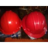 Casco Rojo De Seguridad Industrial