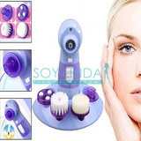Masajeador Exfoliante Limpieza Facial Cutis Poro Hidratante