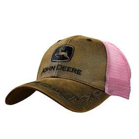 Sombrero Bordado Trasero Del Acoplamiento De John Deere Oil