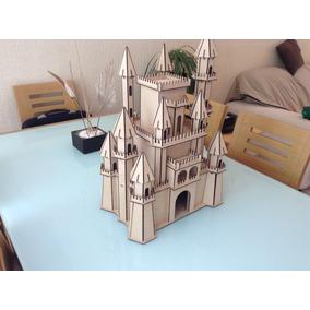 Castillo Medieval En Madera Mdf Corte Laser!!! Rompecabezas