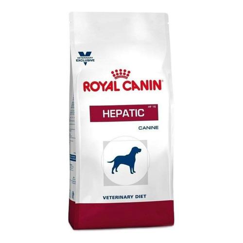 Ração Royal Canin Veterinary Diet Canine Hepatic para cachorro adulto sabor mix em saco de 10kg