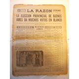 Diario La Razon Nº 8271 Año 1931 Edicion Noche (r4)