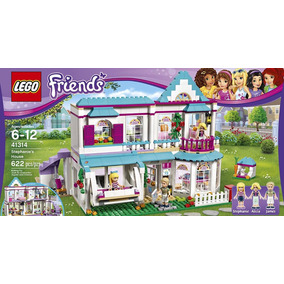 Lego Friends Casa De Stephanie 41314 Bloques Construccion