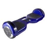 Patineta Scooter Electrico Azul Samsung Bluetooth/ Musicarro