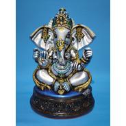 Lord Ganesha Em Gesso - 32 Cm