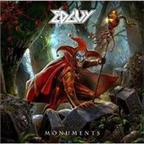 Edguy:monuments(digibook Cd Duplo + Dvd/lançamento)