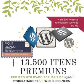 +13.500 Temas Wordpress Premium + Plugins Premium + Brinde